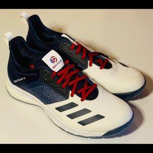 Adidas crazy flight x 'USA volleyball' size 9